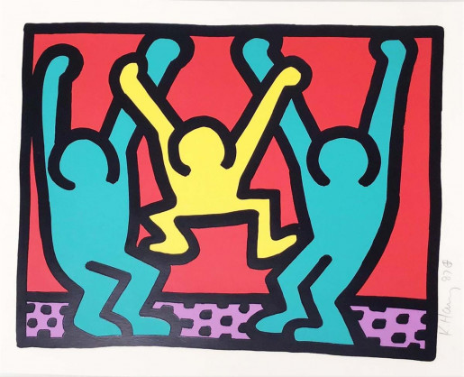 Keith Haring, Pop Shop I (B), 1987