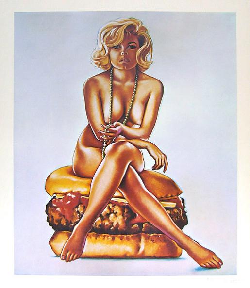 Mel Ramos, Virnaburger, 1965