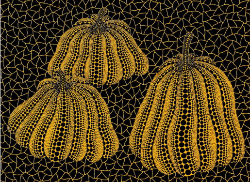Yayoi Kusama, Three Pumpkins, 1993