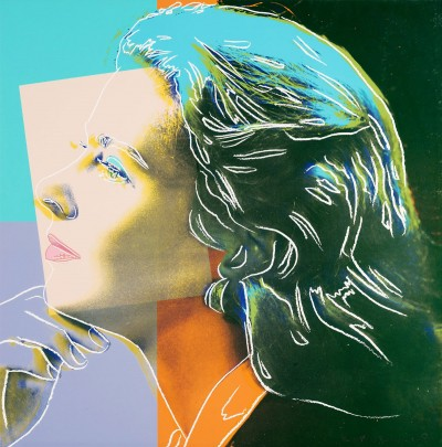 "Andy Warhol - Herself (FS II.313), from the Portfolio ""Ingrid Bergman"""