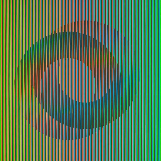 Carlos Cruz-Diez, Serie Semana - Jueves, 2013