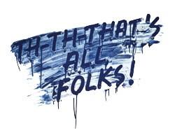 Mel Bochner, That's All Folks!, 2014