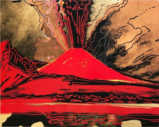 Andy Warhol, Vesuvius (FS II.365), 1985