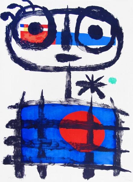 Joan Miró, Sun Eater | Mangeur de Soleil, 1955