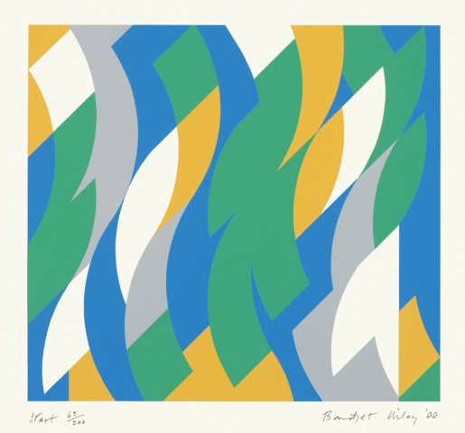 Bridget Riley, Start, 2000