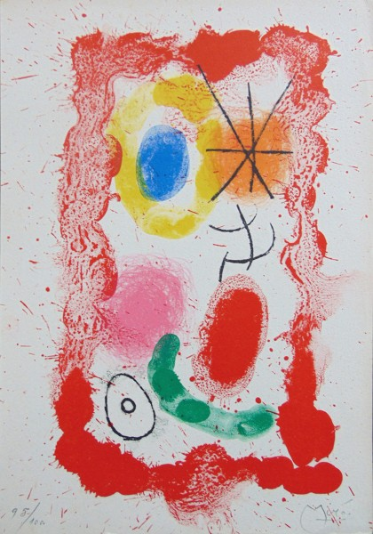 Joan Miró, Text by Jacques Dupin, 1961