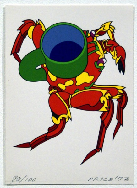 Kenneth Price, Crabcup Miniature (from Eighteen Small Prints), 1973