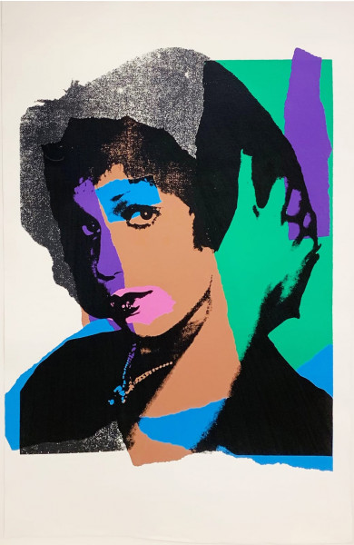 Andy Warhol, Ladies and Gentelmen (FS II.132), 1975