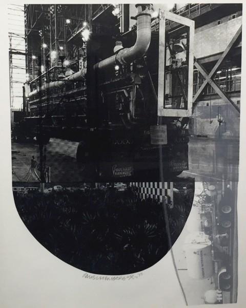 Robert Rauschenberg, Tracks, from Stoned Moon Series, 1970