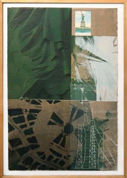 Robert Rauschenberg, Statue Of Liberty, from New York New York Portfolio, 1983