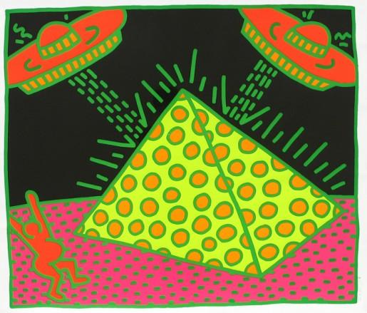 Keith Haring, Fertility #2, 1983