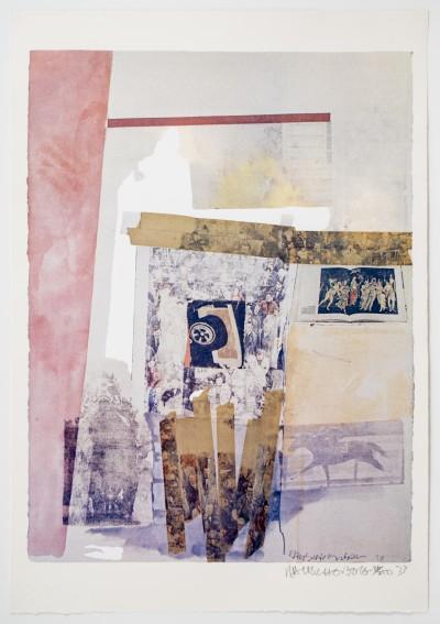 Robert Rauschenberg, Watermark, 1973