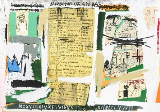 Jean-Michel Basquiat, Jawbone of an Ass, 1982/2005