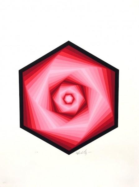 Victor Vasarely, Radau, 1986