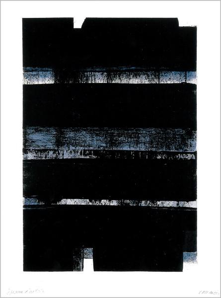 Pierre Soulages, Lithographie No. 32a, 1974