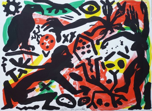 A.R. Penck, The Situation Now, Day, 1992
