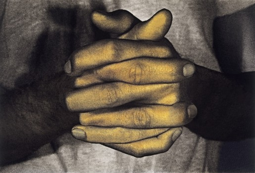 Bruce Nauman, Hands Only from Infrared Outtakes, 2006