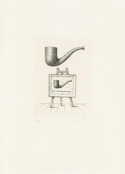 René Magritte, Les Deux Mystères, 1962