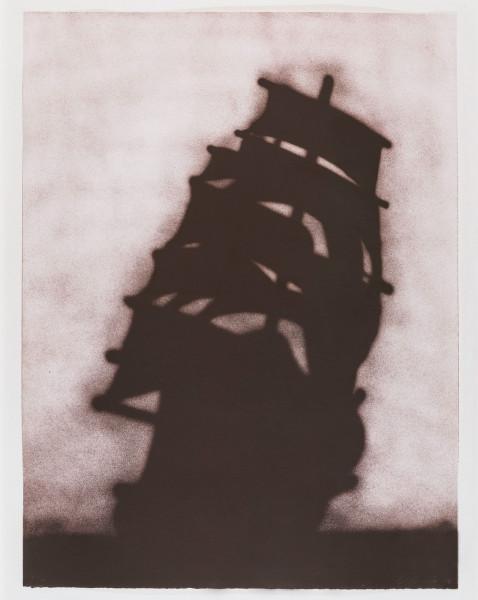 Ed Ruscha, Ship, 1986