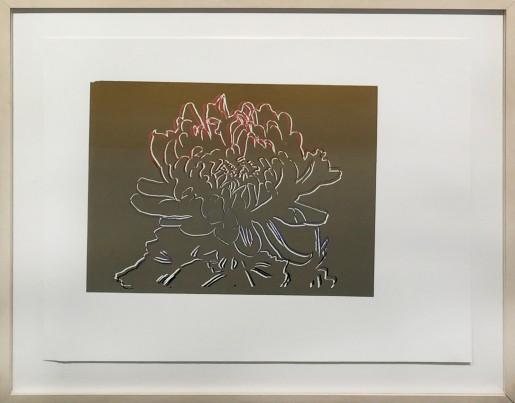 Andy Warhol, Kiku Flowers (Gold) FS II.307, 1983