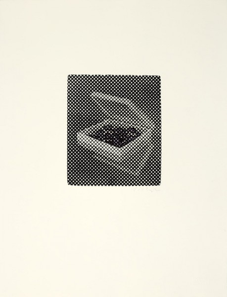 William Tillyer, This Box was Full of Purple Bonbons, Pearls of the Pyrenees, 1974/2018