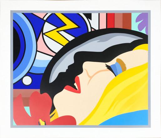 Tom Wesselmann, Bedroom Face with Lichtenstein, 1994