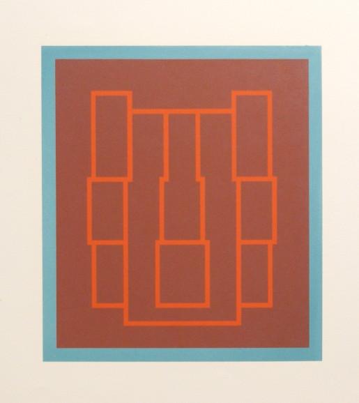 Robyn Denny, Portraits (Series B), IV, 1970
