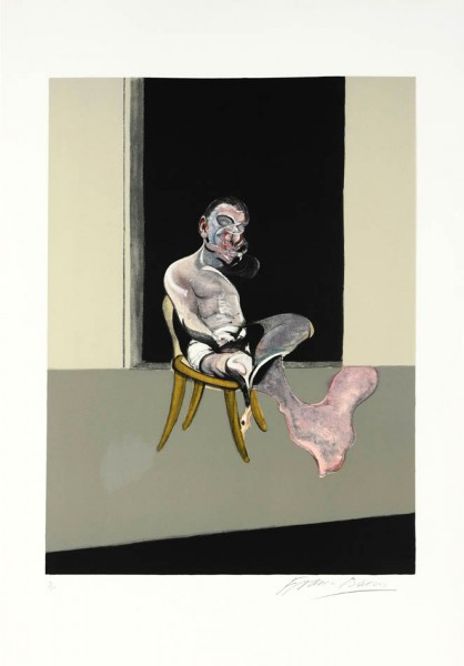Francis Bacon, Triptych August 1972 (Right Panel), 1989