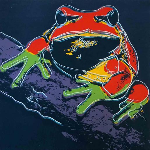 Andy Warhol, Endangered Species: Pine Barrens Tree Frog II.294, 1983
