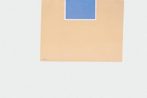 Robert Motherwell, London Series II: Untitled (Blue/Tan), 1971