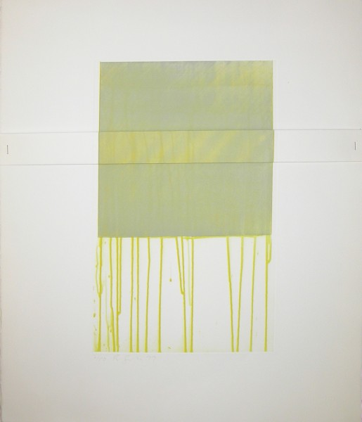 Richard Smith, Small Yellow, 1977