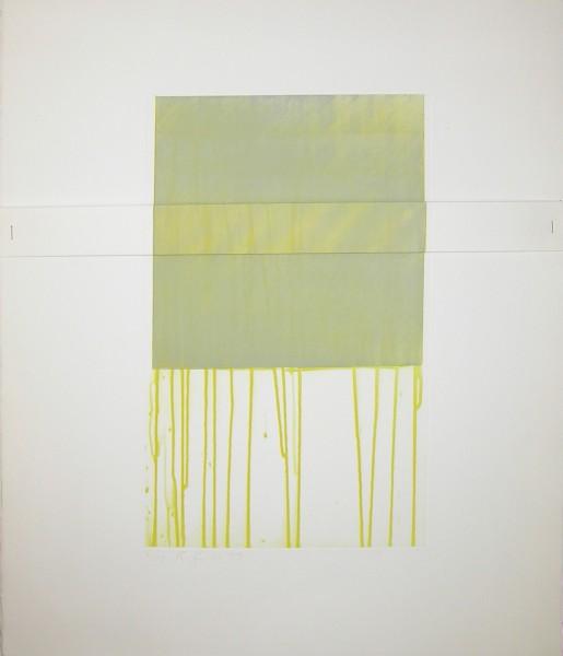 Richard Smith, Small Yellow, 1977