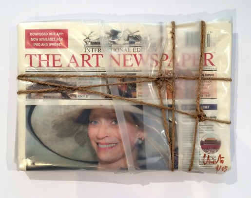 Christo, Wrapped The Art Newspaper, 2015