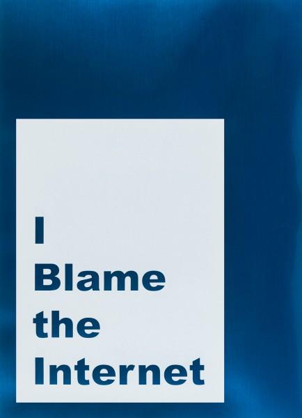 Jeremy Deller, I Blame the Internet, 2014
