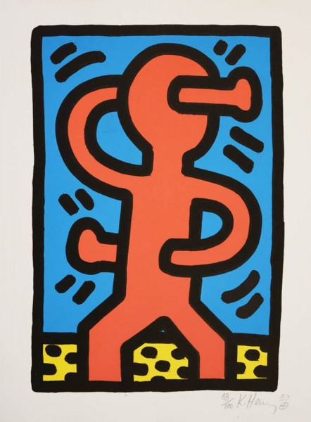Keith Haring, Untitled, 1987