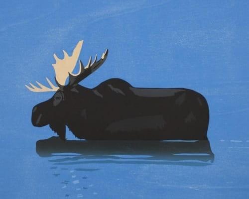 Moose by Alex Katz
