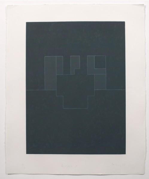 Robyn Denny, Graffiti 5, 1977
