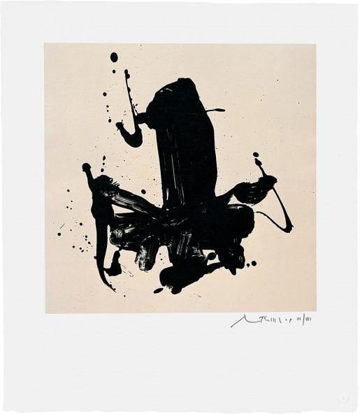 Robert Motherwell, Untitled, 1978