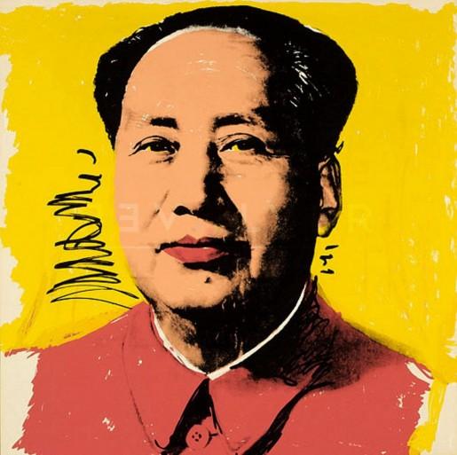 Andy Warhol, Mao (FS II.97), 1972