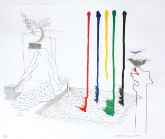 I Say They Are by David Hockney