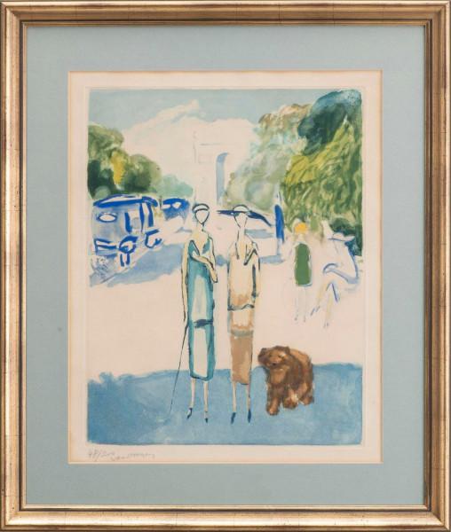 Kees van Dongen, Avenue du Bois, 1928
