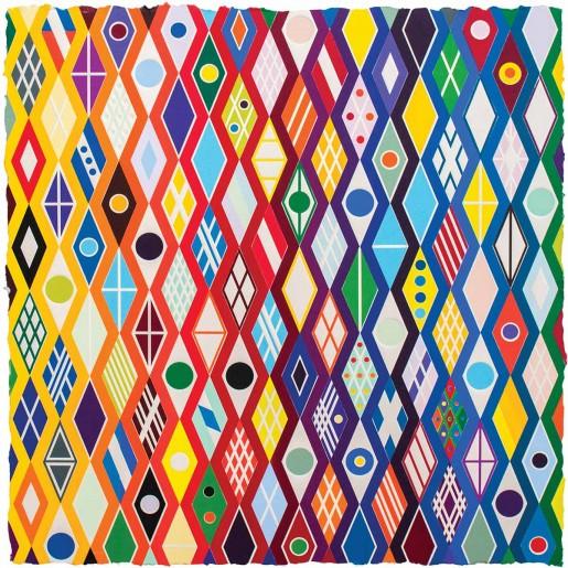 Polly Apfelbaum, Emperor Twist, 2015