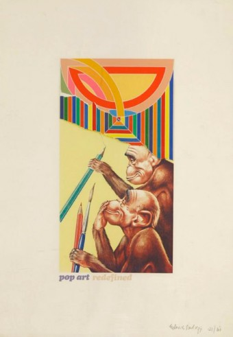 Pop Art Redefined by Eduardo Paolozzi
