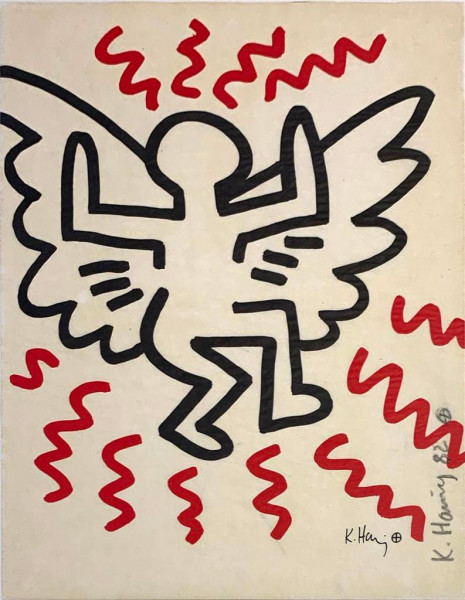 Keith Haring, Bayer Suite #3, 1982