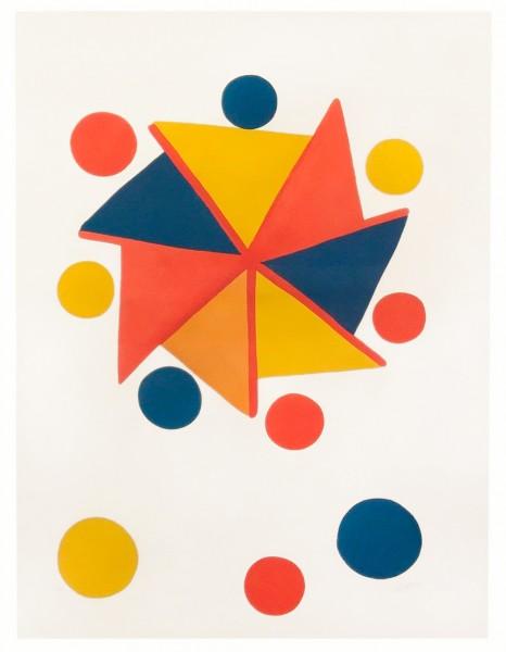 Alexander Calder, Pinwheel, c. 1970