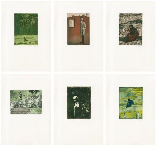 Peter Doig, Black Palms, 2004