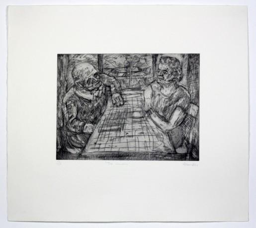 Leon Kossoff, The Window, 1984