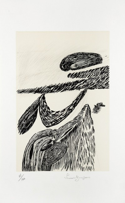 Lithographie II by Louise Bourgeois