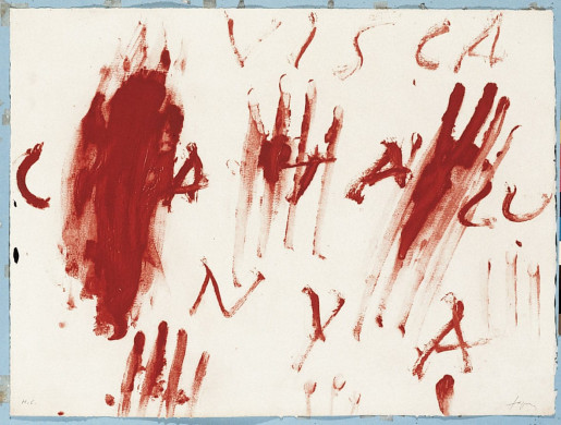 Antoni Tàpies, Visca Catalunya, 1976