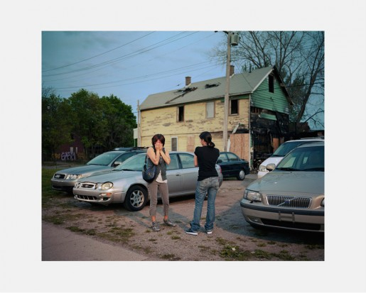 Dawin Meckel, two woman, Detroit, from DownTown - Detroit, 2009